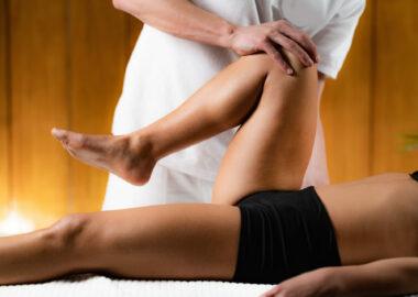Leg Osteopathy treatment
